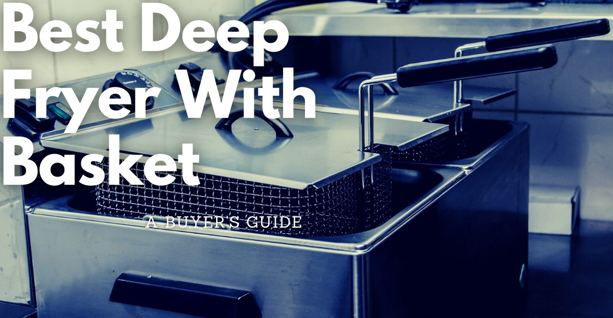 Electric deep fryer for home