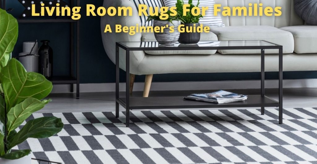 living room rugs for families